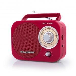 Muse M-055 Rd Kannettava Radio Punainen