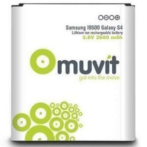 Muvit Battery 2600 mAh for Samsung Galaxy S4