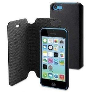 Muvit Magic Folio Wallet for iPhone 5C Black