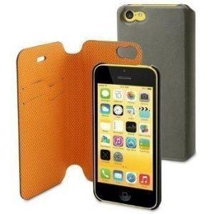 Muvit Magic Folio Wallet for iPhone 5C Orange