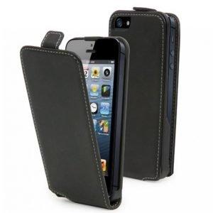 Muvit Slim Flip Case Iphone 5 Musta
