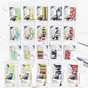 Näytön pyyhin- ja puhdistussarja lehtikuvio