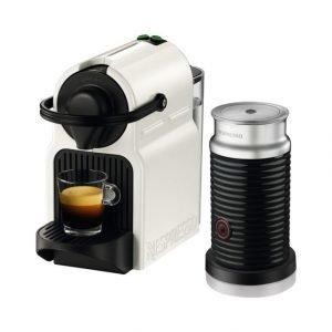 Nespresso Inissia Kahvikone + Aeroccino Maidonvaahdotin