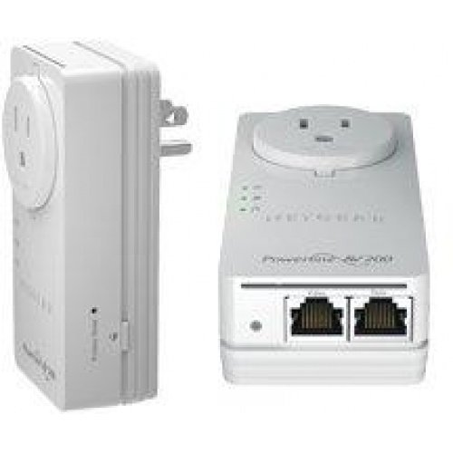 Netgear Powerline 200 AV+ Nano Dual-Port SE XAVB2602 Powerline