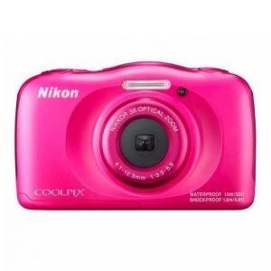 Nikon Coolpix W100 Roosa Kamera