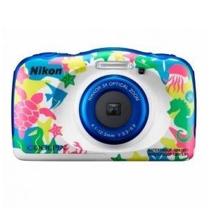 Nikon Coolpix W100 Sininen Kamera