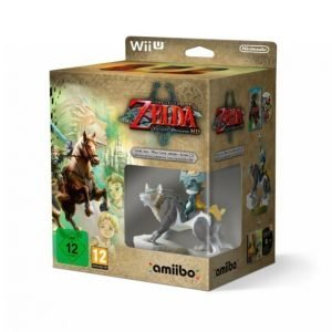 Nintendo The Legend Of Zelda Twilight Princess Hd +Wolf Link Amiibo
