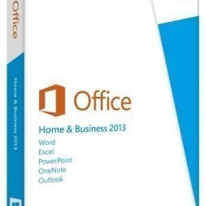 Office Microsoft® Office Home and Business 2013 32-bit/x64 Swedish 1 License Eurozone Medialess