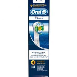 Oral-B 3d White Vaihtoharjat 4 Kpl