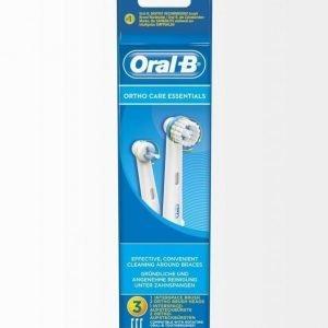 Oral-B Ortho Care Essentials Harjaspäät 3 Kpl