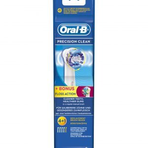 Oral-B Precision Clean / Floss Action Vaihtoharjat 4 + 1 Kpl