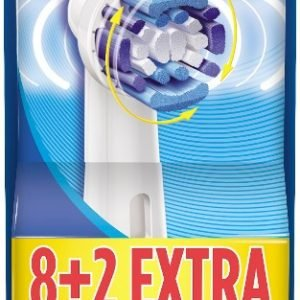 Oral-B Precision Clean Varaharja 8 + 2 Kpl