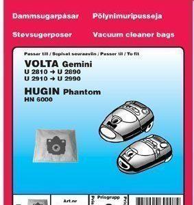 Pölypussit Volta Gemini U2810 U2990 5:n pakkaus.