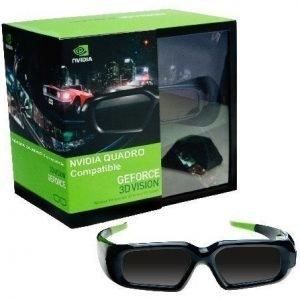 PNY 3D Vision för Quadro Extra 3D-glasögon (IR) 1st extra 3D glasögon. Man kan ha många glasögon/sändar