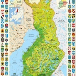 Palapeli Suomen kartta