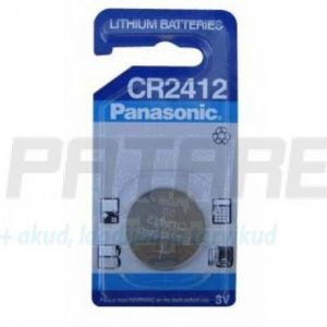 Panasonic CR2412 litium nappiparisto