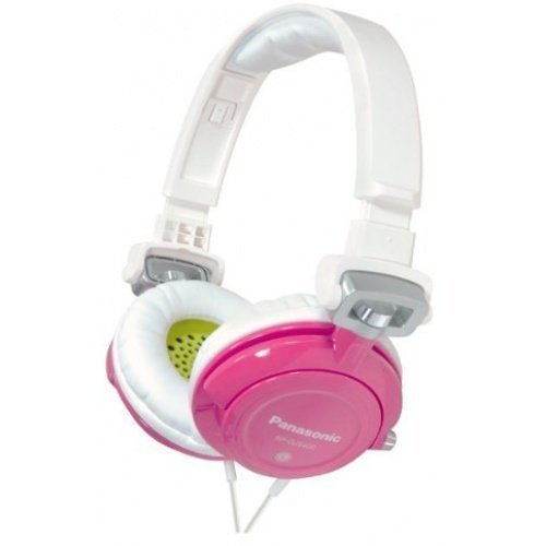 Panasonic RP-DJS400AEZ Fullsize White/Pink