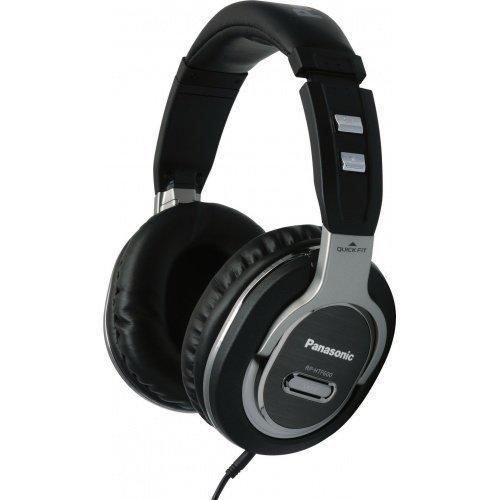 Panasonic RP-HTF600E-S Fullsize Black/Silver