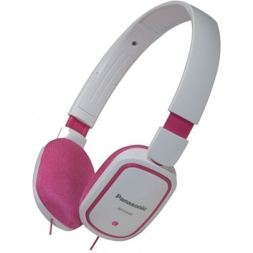 Panasonic RP-HX40E-PW Fullsize White/Pink