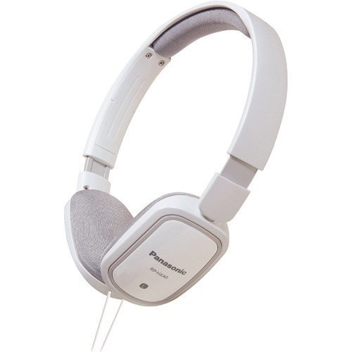 Panasonic RP-HXC40E-W On-Ear with Mic3 for iPhone White