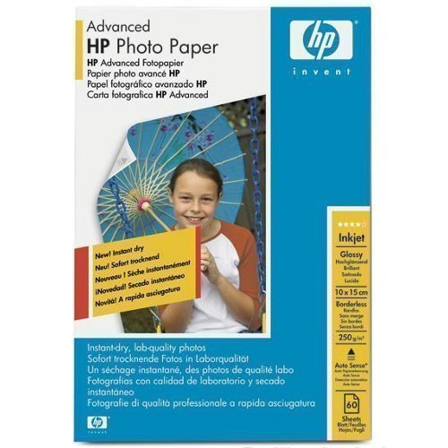 Paper HP 10x15 advanced glossy photo paper 250g 60ark HPQ8008A