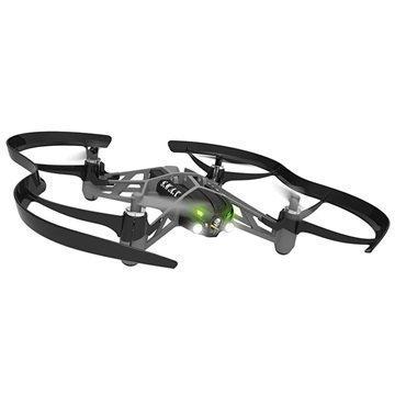 Parrot MiniDrones Airborne Night Drone Swat Lennokki Musta
