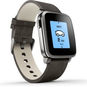 Pebble Time Steel Black