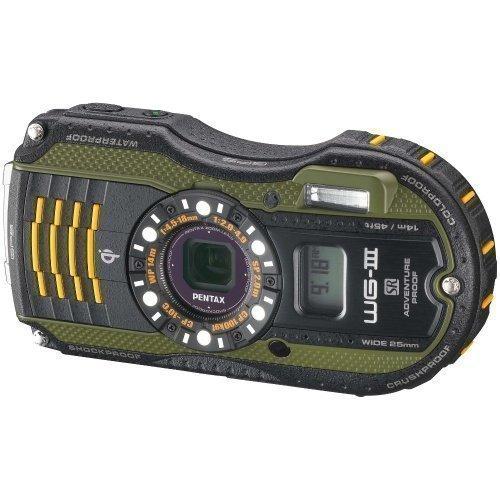 Pentax WG-3 GPS Green