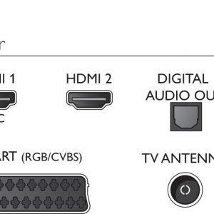 Philips 22pft4232/12 Full Hd Led Tv 22'' Televisio