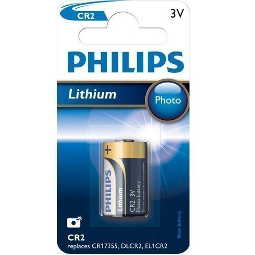 Philips 3V CR2 Lithium 1-pack