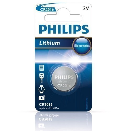 Philips 3V CR2016 Lithium 1-pack