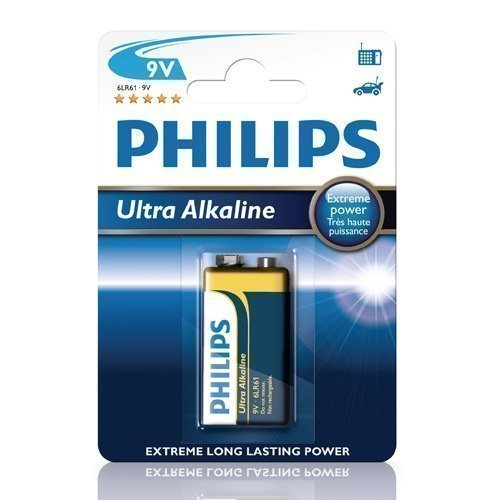Philips 9V Ultra Alkaline
