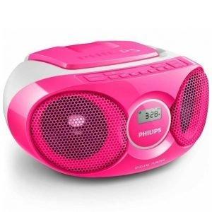 Philips Az215 Cd Soundmachine Soitin Roosa