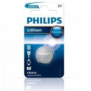 Philips Cr2016 3v 1-Pakkaus