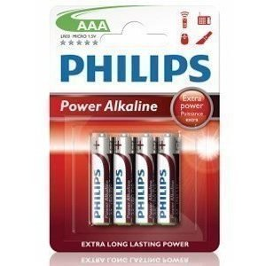 Philips Fashion Power Alkaline AAA 4-pack