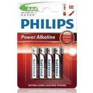 Philips Fashion Power Alkaline AAA 4-pack