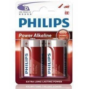 Philips Fashion Power Alkaline D LR20 2-pack