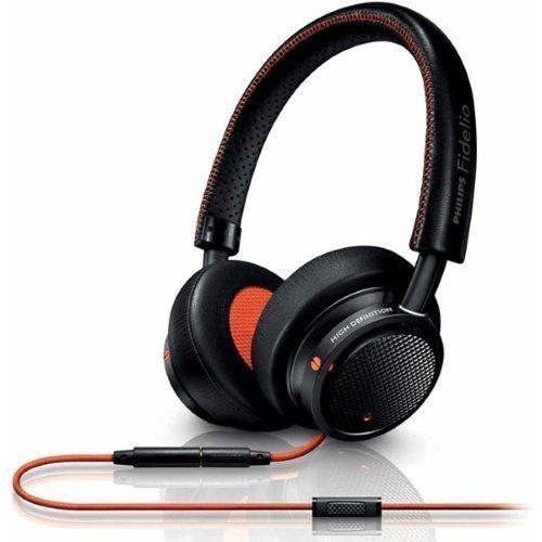 Philips Fideilo M1BO/00 On-Ear with Mic1 Black / Orange