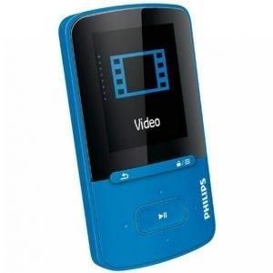 Philips Gogear Mp3 Soitin 4 Gt Sininen