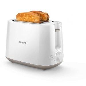 Philips Hd2581/00 Daily Collection Leivänpaahdin Valkoinen