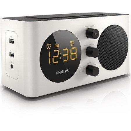 Philips Kelloradio kahdella USB-liitännällä