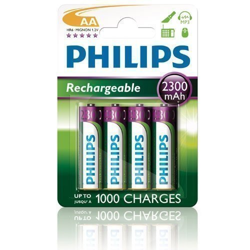 Philips NiMH AA/2300 4-pack