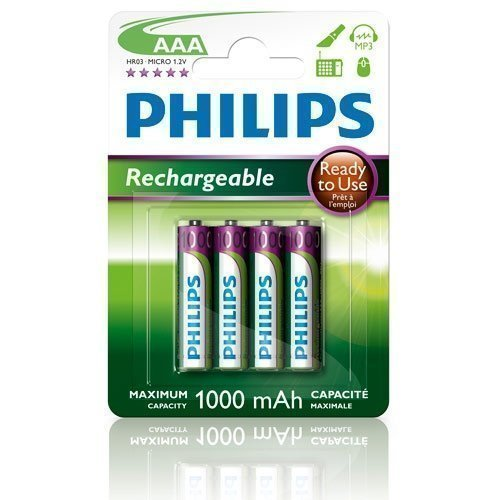 Philips NiMH Ready AAA/1000 4-pack