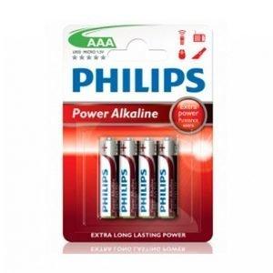 Philips Power Alkaline Aaa Lr03 4-Pakkaus