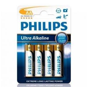 Philips Ultra Alkaline Aa 4-Pakkaus
