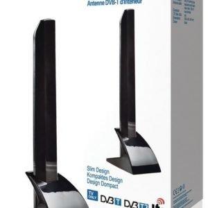 Pienikokoinen DVB-T-sisäantenni 15 dB