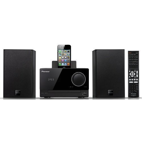 Pioneer X-CM31 Microsystem Black iPod Docking