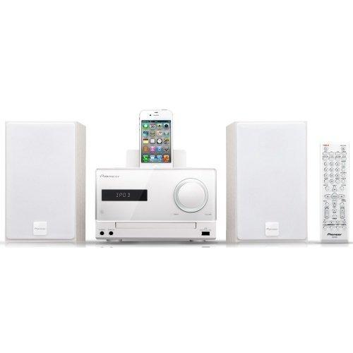 Pioneer X-CM31 Microsystem White iPod Docking