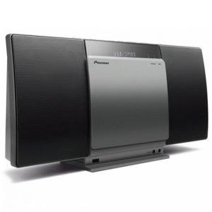Pioneer X-Smc01bt-S Seinämalliset Stereot Joissa Bluetooth Ja Cd