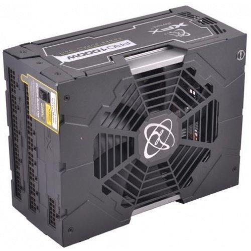Power XFX 1000W Black Edition PSU P1-1000W-BELX ATX 12V EPS12V Upp till 92% (80 PLUS Platinium)